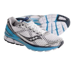 Saucony PowerGrid Triumph 10 Running Shoes (For Women) in Silver/Purple/Green