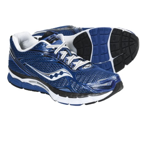 Saucony PowerGrid Triumph 9 Running Shoes (For Men) in Blue/Black/White