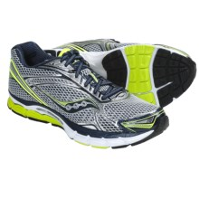 Saucony PowerGrid Triumph 9 Running Shoes (For Men) in Silver/Navy/Citron - Closeouts