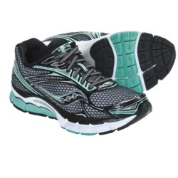 Saucony PowerGrid Triumph 9 Running Shoes (For Women) in Silver/Black/Green