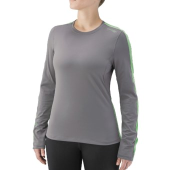 Saucony Primo WXT Shirt - UPF 50+, Long Sleeve (For Women) in Element