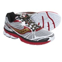 Saucony ProGrid Guide 5 Running Shoes (For Men) in White/Red/Gold - Closeouts
