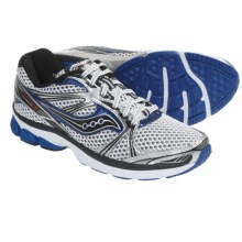 Saucony ProGrid Guide 5 Running Shoes (For Men) in White/Silver/Royal - Closeouts
