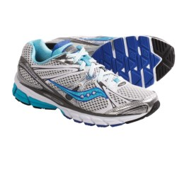 Saucony ProGrid Guide 6 Running Shoes (For Women) in White/Silver/Blue