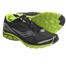 Saucony ProGrid Kinvara 2 Running Shoes (For Men) in Black/Citron - Closeouts