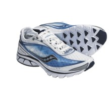 Saucony ProGrid Kinvara Running Shoes (For Women) in White/Blue - Closeouts