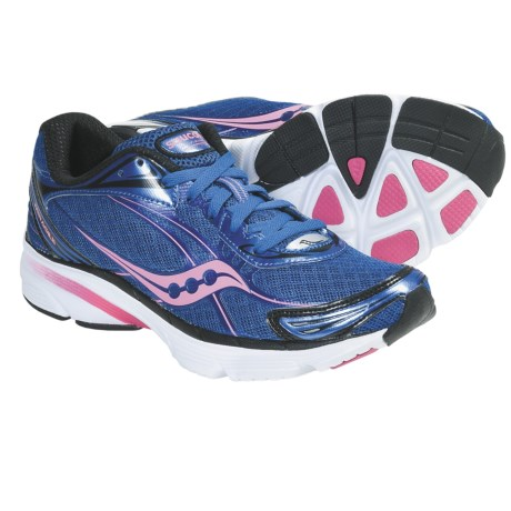 Saucony ProGrid Mirage 2 Running Shoes (For Women) in Dark Blue/Pink