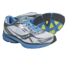 Saucony ProGrid Mirage 2 Running Shoes (For Women) in White/Bright Blue - Closeouts