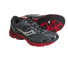 Saucony ProGrid Mirage Running Shoes (For Men) in Grey/Black/Red - Closeouts