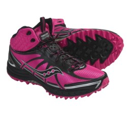 Saucony ProGrid Outlaw Trail Running Shoes (For Women) in Pink/Black