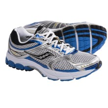 Saucony ProGrid Stabil CS 2 Running Shoes (For Men) in White/Silver/Royal - Closeouts