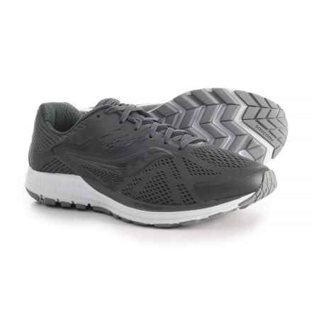 Saucony Ride 10 Running Shoes (For Men) in Gunmetal - Closeouts