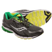 Saucony Ride 6 Running Shoes (For Men) in Grey/Green/Citron - Closeouts