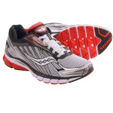Saucony Ride 6 Running Shoes (For Men) in White/Red/Black - Closeouts