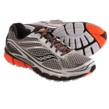 Saucony Ride 7 Running Shoes (For Men) in White/Black/Orange - Closeouts