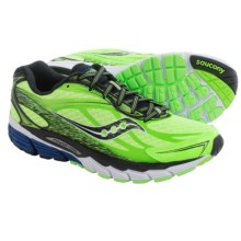 Saucony Ride 8 Running Shoes (For Men) in Slime/Black/White - Closeouts