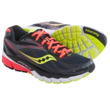 Saucony Ride 8 Running Shoes (For Women) in Midnight/Coral/Citron - Closeouts
