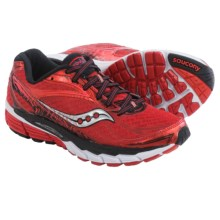 Saucony Ride 8 Running Shoes (For Women) in Red/Black - Closeouts