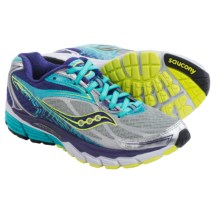 Saucony Ride 8 Running Shoes (For Women) in Silver/Purple/Blue - Closeouts