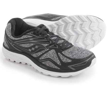 Saucony Ride 9 Running Shoes (For Women) in Grey/Black - Closeouts
