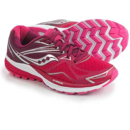 Saucony Ride 9 Running Shoes (For Women) in Pink/Berry - Closeouts