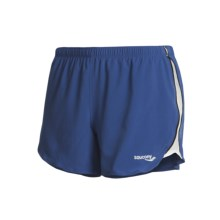 Saucony Run Lux II Shorts (For Women) in Pacific/White - Closeouts