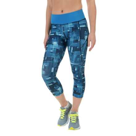 Saucony Scoot LX Capris (For Women) in Sapphire - Closeouts