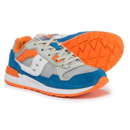 Saucony Shadow 5000 Sneakers (For Boys) in Grey/Royal - Closeouts
