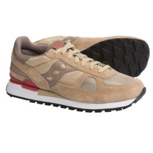 Saucony Shadow Original Sneakers (For Men) in Beige/Red - Closeouts