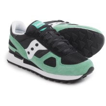 Saucony Shadow Original Sneakers (For Men) in Black/Aqua - Closeouts