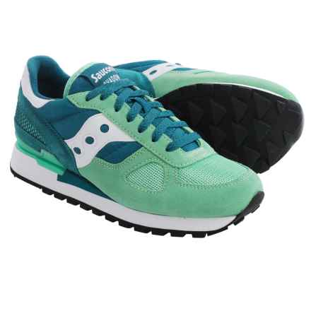 Saucony Shadow Original Sneakers (For Women) in Green/Teal - Closeouts