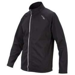 Saucony Shadowlite Soft Shell Jacket (For Men) in Black