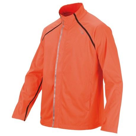 Saucony Shadowlite Soft Shell Jacket (For Men) in Vizipro Orange
