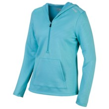 Saucony Siberius Hoodie Sweatshirt - Fleece (For Women) in Isis Blue - Closeouts
