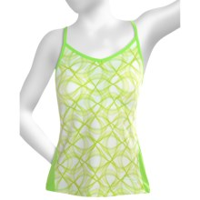 Saucony Spark Tank Top - Built-In Bra (For Women) in Nimble Green - Closeouts