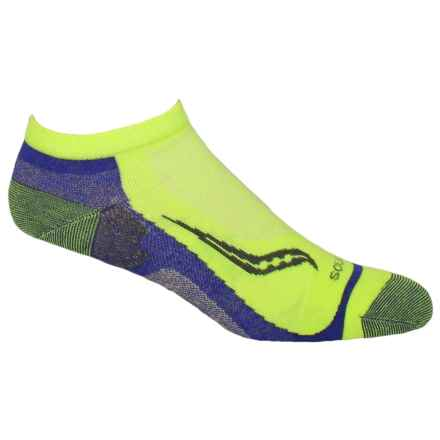 Saucony Speed of Light No-Show Tab Socks - Below the Ankle (For Men and Women) in Blue - Closeouts
