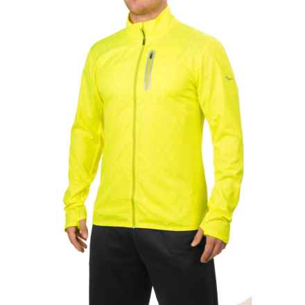Saucony Speed of Lite Jacket (For Men) in Vizipro Citron - Closeouts