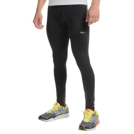 Saucony Sport Tights (For Men) in Black - Closeouts