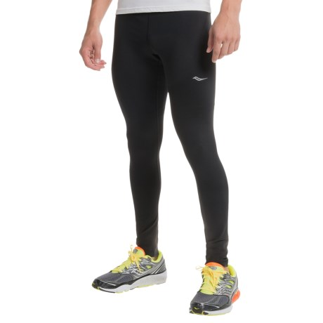 Saucony Sport Tights (For Men) in Black