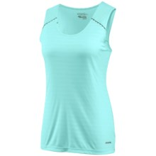 Saucony Stamina Tank Top - Full-Coverage Back (For Women) in Oxygen - Closeouts