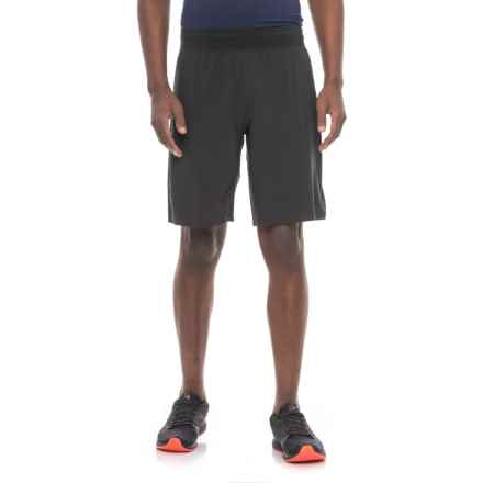 Saucony Stretch-Woven Shorts (For Men) in Black - Closeouts