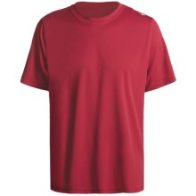 Saucony Transit Shirt - UPF 45+, Short Sleeve (For Men) in Racer Red - Closeouts