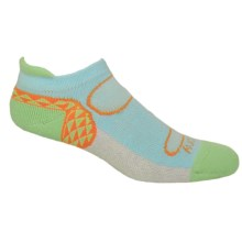 Saucony Triangle No-Show Tab Socks - Below the Ankle (For Women) in Light Blue - Closeouts