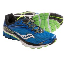 Saucony Triumph 11 Running Shoes (For Men) in Blue/Black/Slime - Closeouts