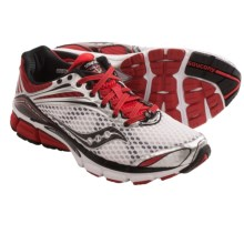 Saucony Triumph 11 Running Shoes (For Men) in White/Red/Black - Closeouts