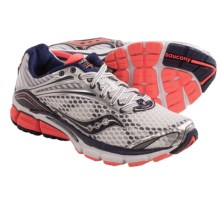 Saucony Triumph 11 Running Shoes (For Women) in White/Vizicoral/Navy - Closeouts