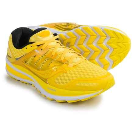 Saucony Triumph ISO 2 Running Shoes (For Men) in Long Run Lemon Run Pop - Closeouts