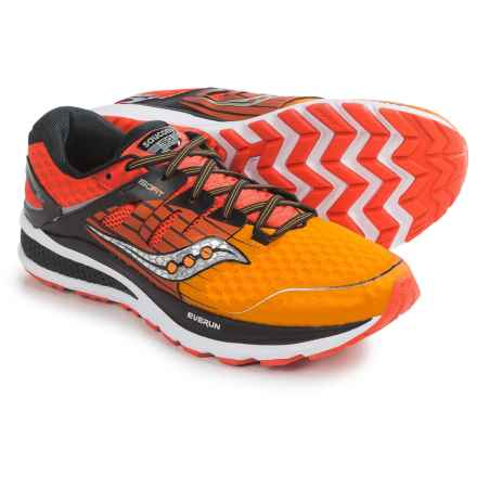 Saucony Triumph ISO 2 Running Shoes (For Men) in Red/Orange/Black - Closeouts