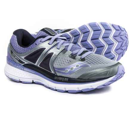 Saucony Triumph Iso 3 Running Shoes (For Women) in Grey/Purple - Closeouts