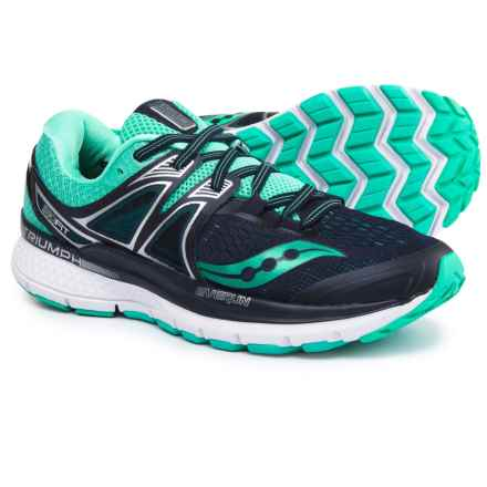 Saucony Triumph Iso 3 Running Shoes (For Women) in Navy/Blue - Closeouts